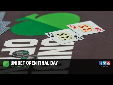 Unibet Open Tallinn 2014 - Main Event, Final Table. HD