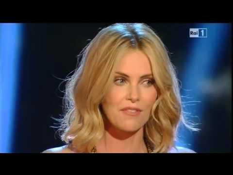 Sanremo 2015 - Charlize Theron - Seconda serata 11/02/2015