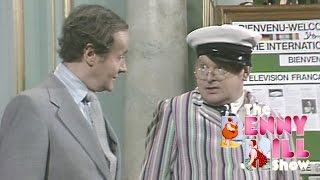 Benny Hill - Fred Scuttle at The International Television Festival (1979)