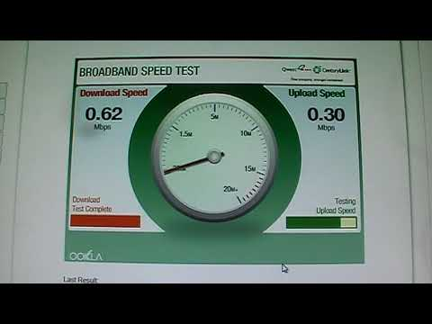 Centurylink qwest dsl speed test