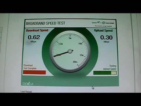Centurylink qwest dsl speed test