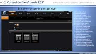 Eikos² - EKS550 Video de formación: modo Mezclador