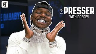 DaBaby Answers LEBRON OR JORDAN? | HoH Presser