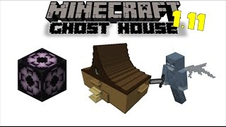 Ghost House | Minecraft 1.11 Structure Block Mod