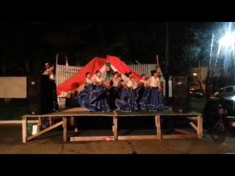 Grupo de Danzas Paraguayas Panambi Hovy - FOGONES DE BERNAL 2014
