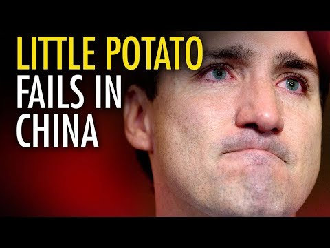Ezra Levant China humiliates Little Potato Justin Trudeau