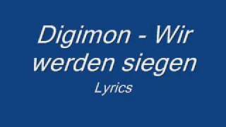 Digimon - Wir werden siegen - Lyrics