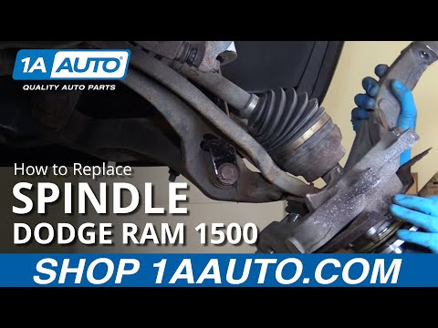 How to Remove Reinstall Spindle 2008 Dodge Ram 1500 BUY QUALITY AUTO PARTS AT 1AAUTO.COM