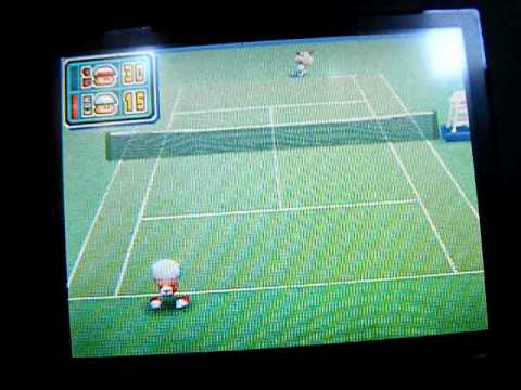 パワポケ12ミニゲーム しあわせのフサフサボール(テニス)