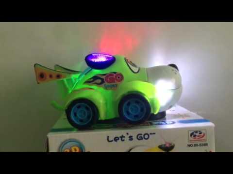 Toptan oyuncak ışıklı araba