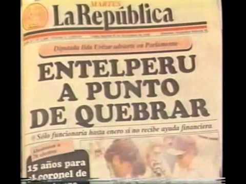 El Milagro que salvó el Perú se llama Alberto Fujimori