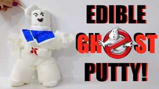 How To Make Edible Ghost Putty - Ghostbuster Themed Slime