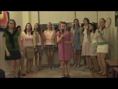 Girls Cappella Group Sings Bitches Ain't Shit