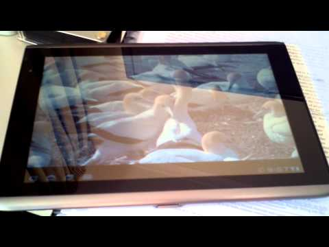 Acer Iconia A500 HDMI out