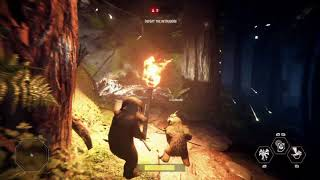 Star Wars Battlefront: 2 NEW Ewok Hunt gameplay! (no commentary)
