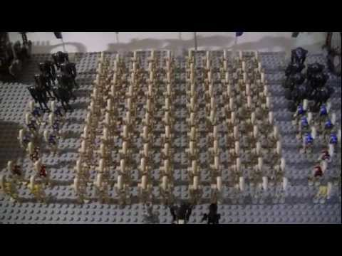 My lego star wars droid army