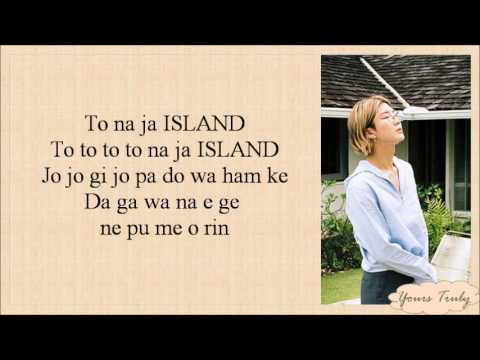 WINNER - ISLAND [EASY LYRICS]