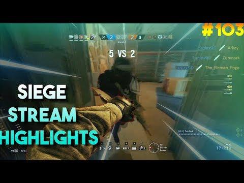 Insane 3K Knife Rush! | Beaulo Is Insane!! - Siege Stream Highlights #103