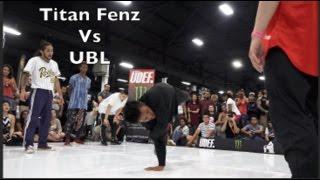 Titan Fenz Vs UBL   Semifinals   Hit The Breaks 2016   Pro Breaking Tour   BNC