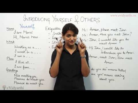 How to Perfect Introduce  Yourself#
