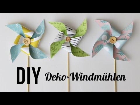 Tutorial   DIY Windmühle   Dekoration   Geschenkverpackung