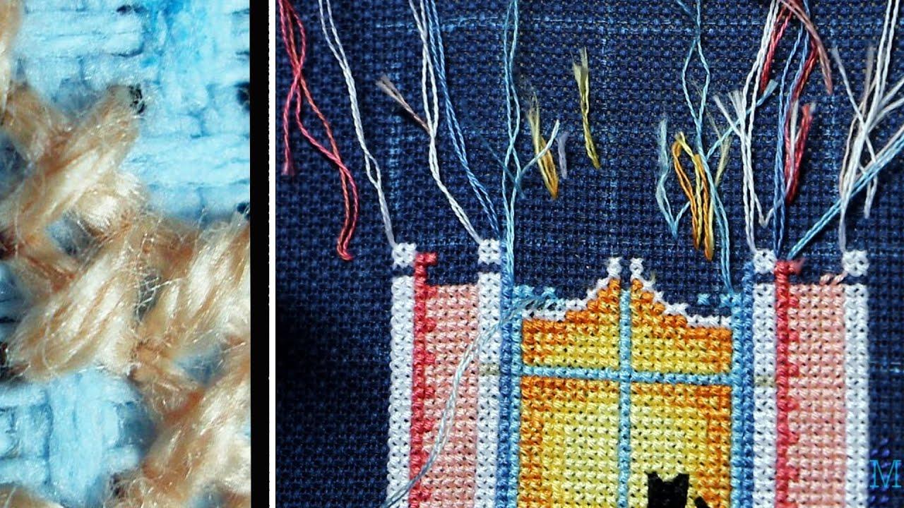 8 способов закрепить нить без узелка при вышивке Рамблер 99