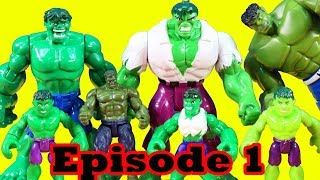 Hulk Family Episode 1 ! Hulk Family Begins ! Superhero Toys