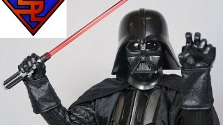 Star Wars A New Hope Hot Toys Darth Vader Movie Masterpiece 1/6 Scale Collectible Figure Review