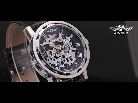 Механические часы WINNER [Посылка с Aliexpress]