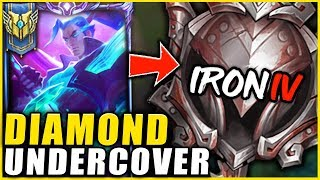I HIRED A COACH AND PRETENDED TO BE AN IRON YASUO MAIN **YOU WILL CRY LAUGHING