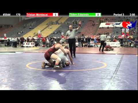 FSN 170: Tristan Mordecai (Ironwood Ridge High School) vs. Tilden Edwards (Leavenworth)
