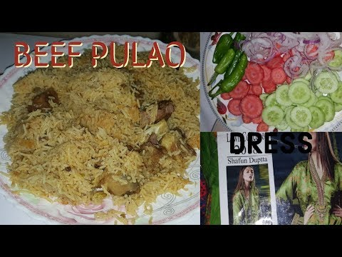 Beef pulao|| got surprise gift from ?? || Sadia's kitchen thumbnail