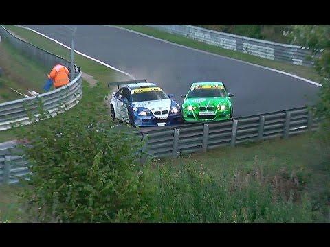 Heavy Crash Nordschleife BMW M3 E46 RCN Nürburgring Unfall 16.10.2016