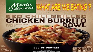Shame on YOU Marie Callender's - Red Chili Grilled Chicken Burrito Bowl - The Wolfe Pit