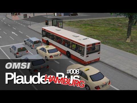 OMSI Bus Simulator ► Hamburg Tag & Nacht [Plauderbus 008] - Linie 109
