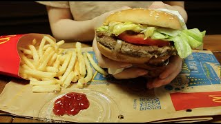 ASMR Eating / McDonald