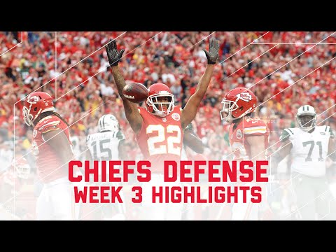 Chiefs Defensive Highlights Jets Vs Chiefs Nfl Week 3 Player