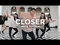 Closer (DANCE TUTORIAL) - The Chainsmokers Feat. Halsey | @besperon Choreography #CloserChallenge thumbnail