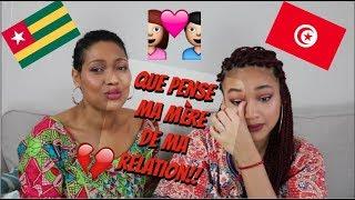 QUE PENSE MA MÈRE DE MA RELATION TOGO-TUNISIE!!!/MOTHER TAG
