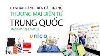 Tự nhập hàng trên các trang thương mại điện tử Trung Quốc