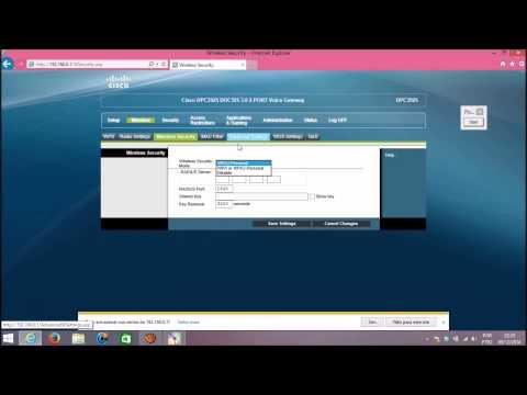 Configurando Modem Router Cisco DPC3925 da NET