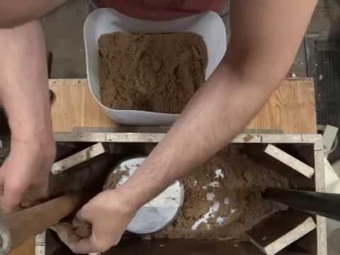 Как переплавить песок в домашних условиях