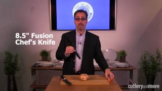 How to use your Yaxell Dragon Santoku & Fusion knives