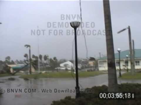 8/13/2004 Hurricane Charley Video. Punta Gorda, Florida - Part CC3