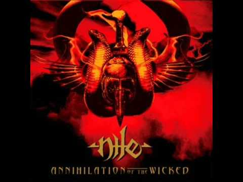 Nile - Chapter Of Obeisance Before Giving Breath To The Inert One In The Presence