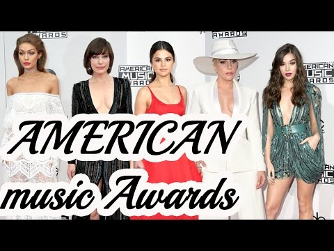 Every Look from the 2016 American Music Awards | Red carpet fashion thumbnail