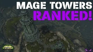 Which Mage Tower Challenge Was the Hardest?! (Mage Tower Challenge Scenario Rankings)