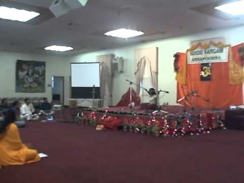 Song from Hindu Sangam Sacramento