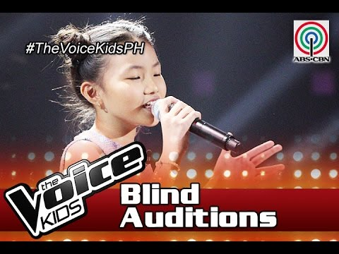 The Voice Kids Philippines 2016 Blind Auditions: Ngayon by Alyssa