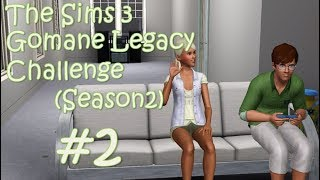 "The Sims 3 Gomane Legacy Challenge (S2) Part2 ""Researching Science & Boys"""